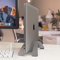 Twelve South BookArc Stand aus Stahl für MacBook / MacBook Air 11, 12, 13, 15, space grey
