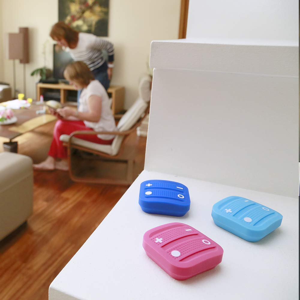 Nodon EnOcean The Soft Remote Fernbedienung Steuerung Smart Home hellgrau