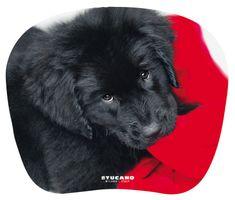 Tucano Mousepad Ergo Sum-Serie Maus Pad Hund schwarzer Labrador Gummi-Unterseite