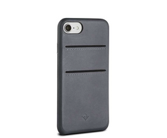 Twelve South Relaxed Leather Clip Schutzhülle Case Cover iPhone 8 7 6/6s Grau