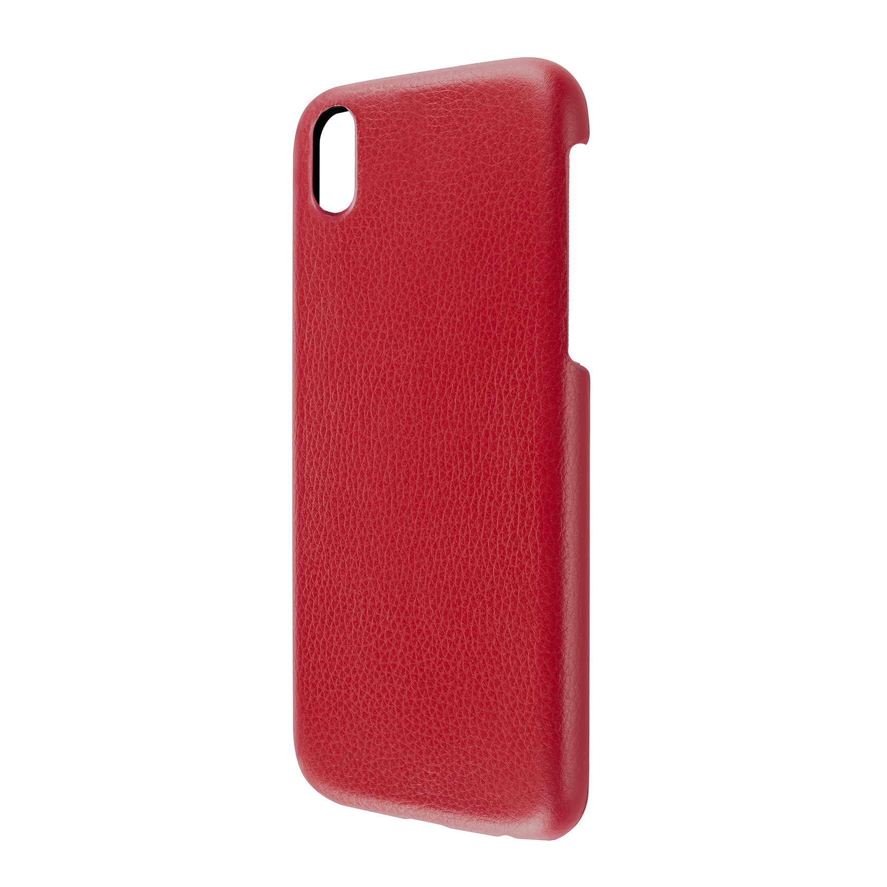 Artwizz Leather Clip edle Schutz-Hülle Echt-Leder iPhone X 10 Cover rot B-Ware – Bild 7