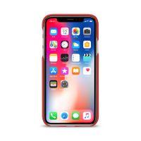 Artwizz Leather Clip edle Schutz-Hülle Echt-Leder iPhone X 10 Cover rot B-Ware – Bild 4
