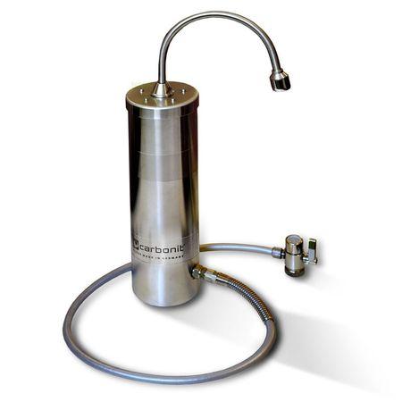 Design Edelstahl Sanuno Inox S Wasserfilter