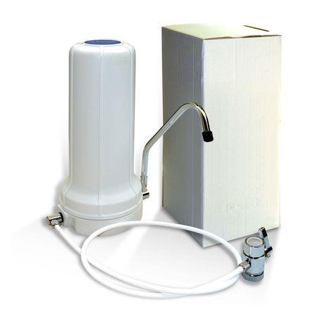 Auftischfilter Wasserfilter Bausatz mit Carbonit NFP Premium Patrone