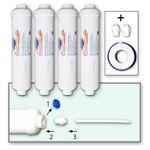 4x AICRO Kühlschrankfilter für Side by Side Kühlschränke