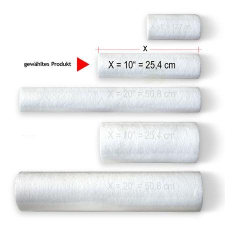 Aquawin Vorfilterpatrone, Sediment- und Grobfilter 5 Mikron – Bild 5