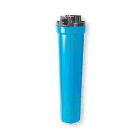 20 Zoll x 2,5 Zoll Wasserfiltergehäuse, blau