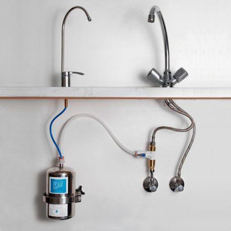 Multipure MP-400SB Trinkwasser Edelstahl-Untertisch-/Einbaufilter – Bild 2