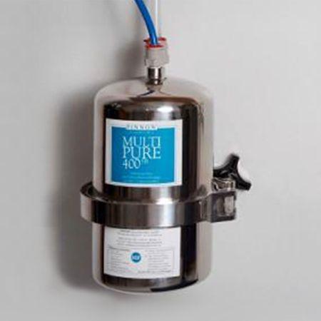 Multipure MP-400SB Trinkwasser Edelstahl-Untertisch-/Einbaufilter
