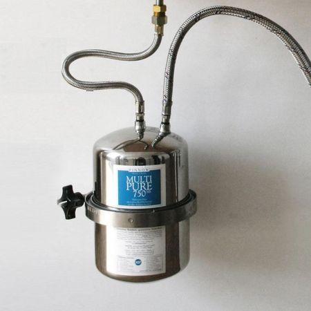 Multipure MP-750SB Trinkwasser Edelstahl-Untertisch-/Einbaufilter – Bild 1