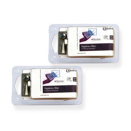 2x Bauknecht HYG001 / 481248048173 Hygiene-Filter