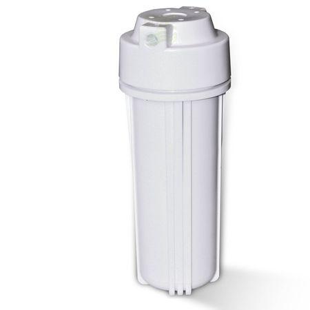 25,4cm (10 Zoll) Wasserfiltergehäuse, Umkehrosmose, weiß – Bild 1
