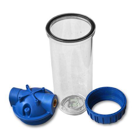 25,4cm/ 10 Zoll Wasserfiltergehäuse, 3-teilig, 3/4Zoll IG – Bild 2