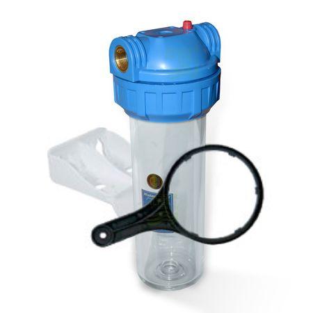 10 Zoll Wasserfiltergehäuse 3/4 3 tlg. (Aquafilter) – Bild 1