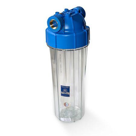 25,4cm/10Zoll Wasserfilter Gehäuse EKO 1/2Z + Sedimentpatrone 5 mikron – Bild 1