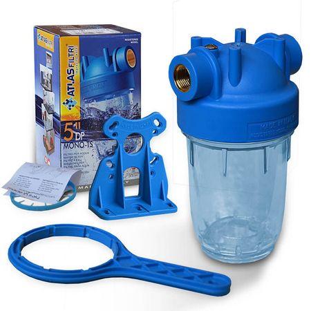 5 Zoll Wasserfilter Gehäuse Italy, Innengewinde 1/2 Zoll, – Bild 1