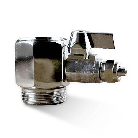 3/4 Zoll Wasseranschluss für SBS Kühlschrank und Umkehrosmoseanlage mit Absperrhahn