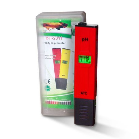PH TESTER ATC PH-2011, 0-14 PH, ph Tester (rot in Box) – Bild 1
