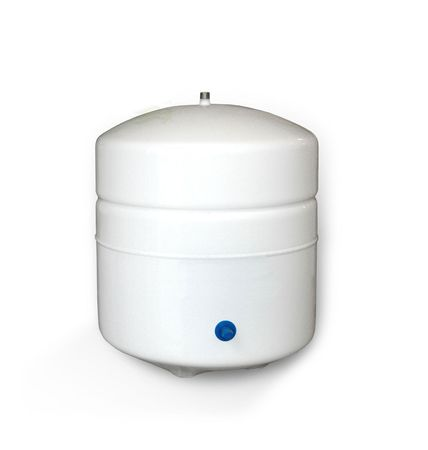 Stahltank Umkehrosmose, weiß lackiert, 8 Liter / 2 Gal. – Bild 1