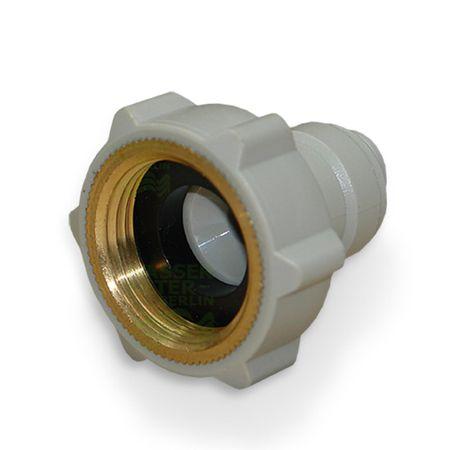 Adapter Anschluss 3/4 Zoll IG für Kühlschrank Schlauch  3/8 Zoll – Bild 3