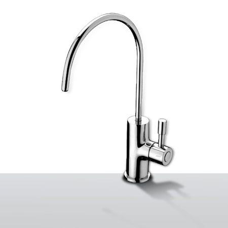 EDELSTAHL Wasserhahn Asti poliert, mit Keramikventil – Bild 1