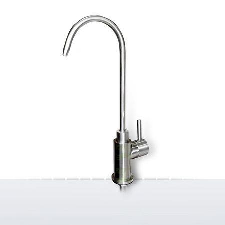 EDELSTAHL Wasserhahn Berlo für Wasserfilter und Wasserspender – Bild 1