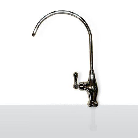 Wasserhahn (entlüftet) mit Keramikventil für Umkehrosmose Osmose Anlage – Bild 1