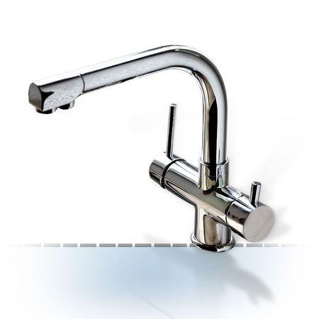 Design-VIER-Wege-Wasserhahn Veron, 4-Wege-Wasserhahn – Bild 1