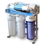Direct Flow Umkehrosmose-Anlage Wasserstelle 500 GPD
