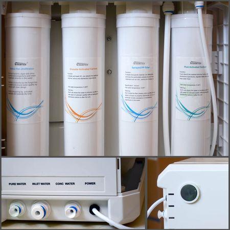 Kompakt Direct Flow Umkehrosmose-Anlage Wasserstelle 500 GPD – Bild 5