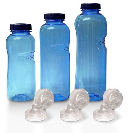 Trinkflasche 1Ltr., 0,75 Ltr., 0,5 Ltr. frei von Weichmacher/ BPA – Bild 1