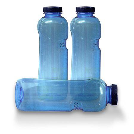 3x Trinkflasche 1 Ltr., frei von Weichmachern und Bisphenol A – Bild 1