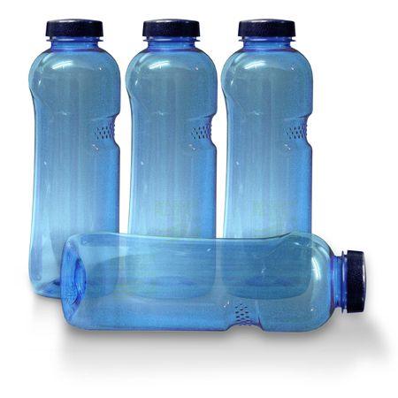 4xTrinkflasche 1Ltr., frei von Weichmachern und Bisphenol A – Bild 1