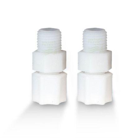Adapterpaar für Kühlschrankfilter, Jaco-Schraubverschlüsse – Bild 1
