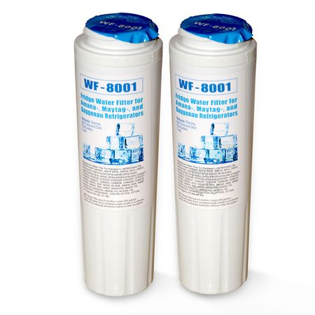 2x WF-8001  Wasserfilter, kompatibel Maytag UKF8001 Kühlschrankfilter
