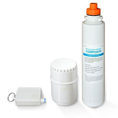 Ersatzfilterset 2 für autarke Umkehrosmose Anlage Elegance 2 – Bild 1