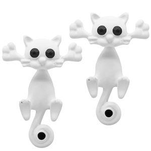 1 Paar Ohrstecker Katzen – Bild 4