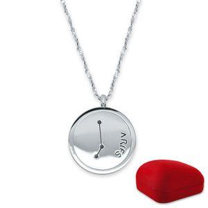 Sternzeichen-Anhänger Halskette Edelstahl – Bild 18