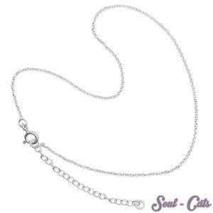 dezentes Fußkettchen Armkettchen 925 Sterling Silber  – Bild 1