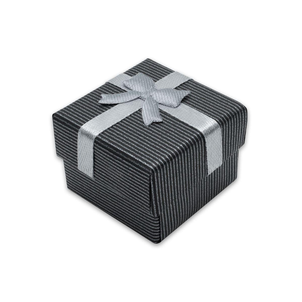 geschenk boxen mit schleife aufbewahrung gastgeschenk grau edel schachtel ebay. Black Bedroom Furniture Sets. Home Design Ideas