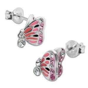 1 Paar Ohrstecker Schmetterling – Bild 2