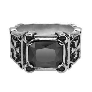 1 Gothik Ring aus Edelstahl – Bild 2
