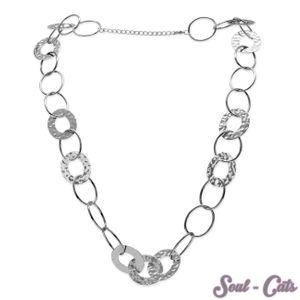 1 Metall Kette aus großen Ringen – Bild 1