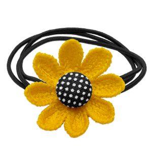 3 Stk. Haargummi Blume – Bild 3