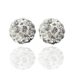 5 Stk. Beads Perlen Glitzer Disko Kugel Bead Kristallkugel Armband basteln – Bild 5