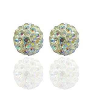 5 Stk. Beads Perlen Glitzer Disko Kugel Bead Kristallkugel Armband basteln – Bild 17