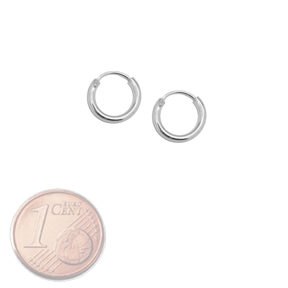 Creolen-Creole-925-echt-sterling-Silber-Ohrringe-silbern-8-12-16-20-25-40-75-mm