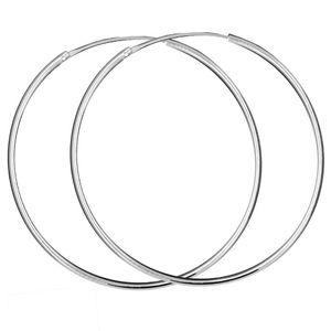 Creolen Creole 925 echt sterling Silber Ohrringe silbern 8 10 12 16 20 25 mm – Bild 21