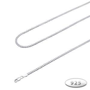 echt 925 silber Panzerkette Silberkette sterling Halskette Königskette 2 3 4 5 6 7 8 – Bild 2