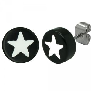 2 Stück Ohrstecker Stern Ohrring Ohrringe Sterne – Bild 2